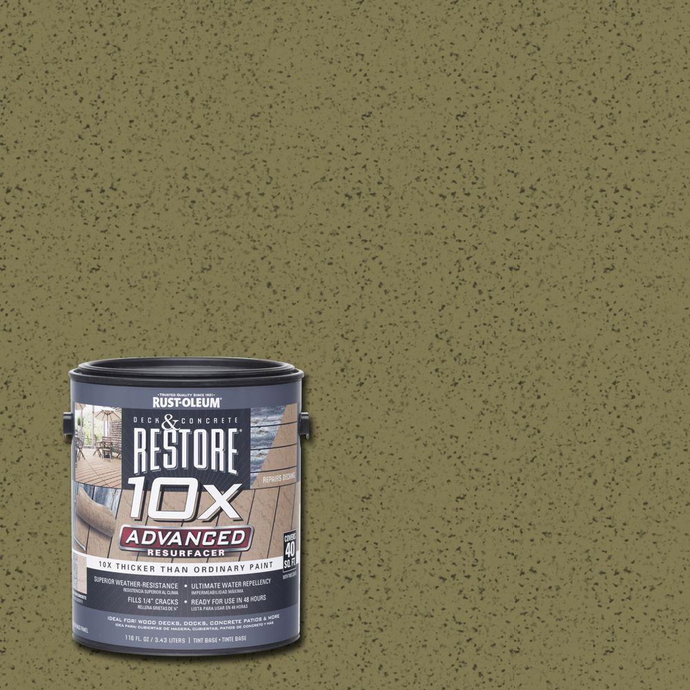 Rust-Oleum Restore 1 gal. 10X Advanced Sage Deck and Concrete Resurfacer