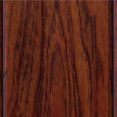 Hand Scraped Hickory Tuscany 3/8 in. T x 4-3/4 in. W x Varying Length Click Lock Hardwood Flooring (24.94 sq.ft. / case)