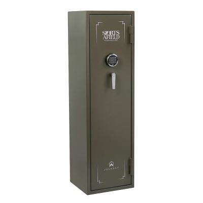 Journey Series 14-Gun Elock Gun Safe, OD Green Texture