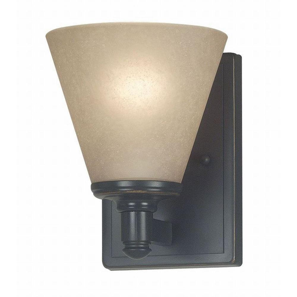 Kenroy Home Tallow 1-Light Bronze Patina Finish Sconce -DISCONTINUED