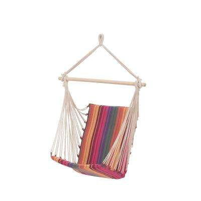 3.3 ft. Portable Hammock Chair in Havy Stripe