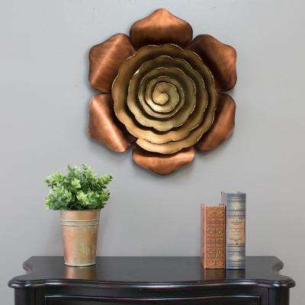 Alice Metal Flower Wall Decor