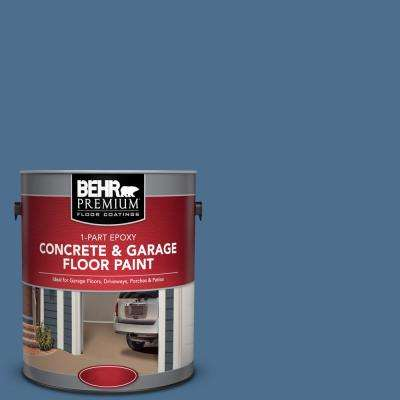 1 gal. #PPF-47 Porch Song 1-Part Epoxy Satin Interior/Exterior Concrete and Garage Floor Paint