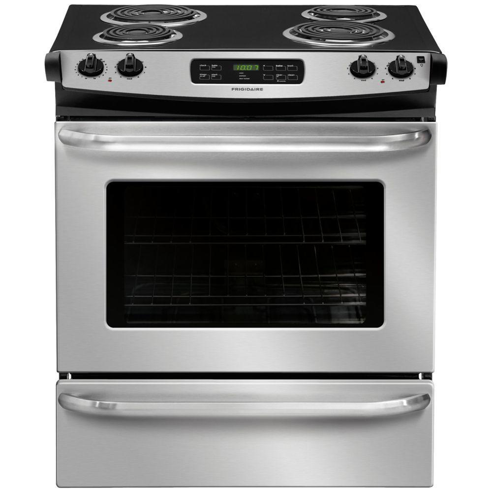 Electric Kitchen Stoves At Home Depot ~ Frigidaire cu ft slide in electric range with self