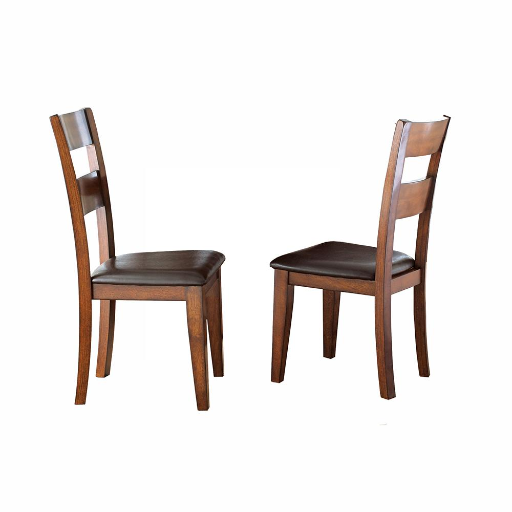 Steve Silver Company Zappa Brown Side Chair Zp500s The