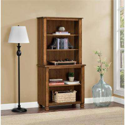 San Antonio Tuscany Oak Open Bookcase