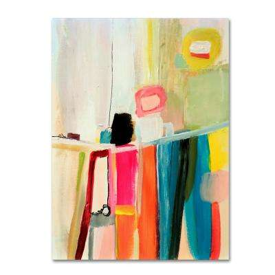 """47 in. x 35 in. """"Anandita"""" by Sylvie Demers Printed Canvas Wall Art"""