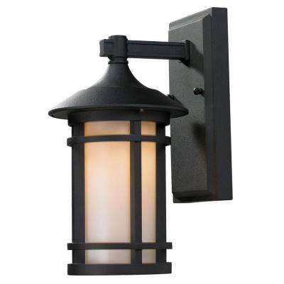 Lawrence 1-Light Black Wall Mount Sconce