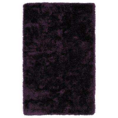 Posh Purple 5 Ft X 7 Area Rug