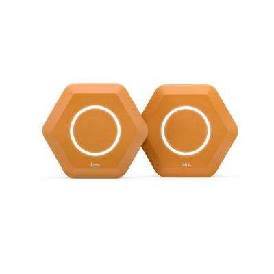 Intelligent Home Wi-Fi System, Orange (2-Pack)