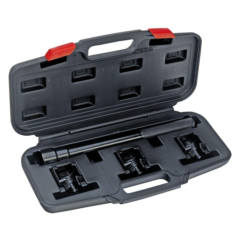 powerbuilt inner tie rod remover kit 648607 the home depot