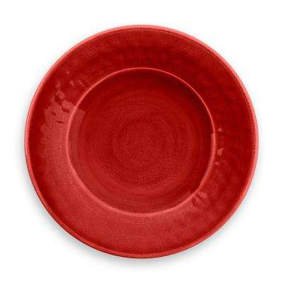 Crackle Red Salad Plate (Set of 6)