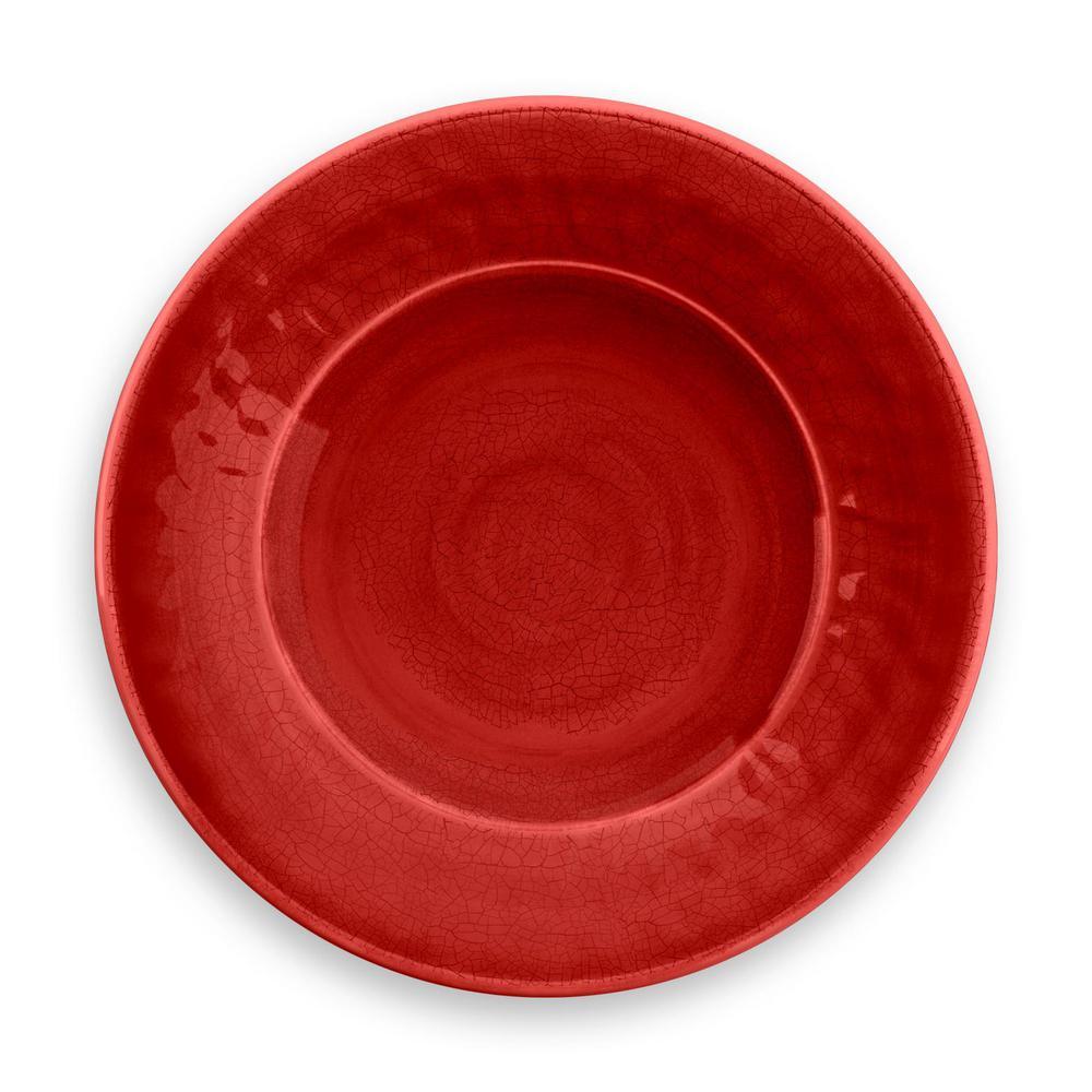 Crackle Red Salad Plate ...  sc 1 st  Home Depot & Red - Melamine - Dinnerware - Tabletop u0026 Bar - The Home Depot