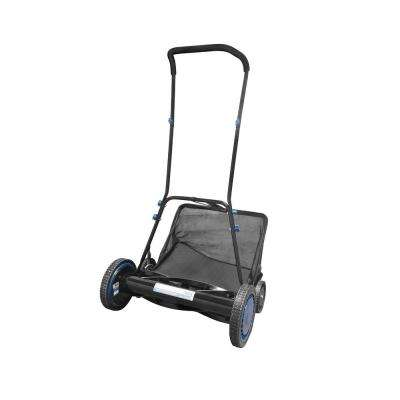 20 in. Manual Hand Push Walk Behind Reel Mower