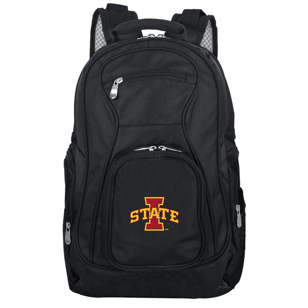 NCAA Iowa State Black Backpack Laptop
