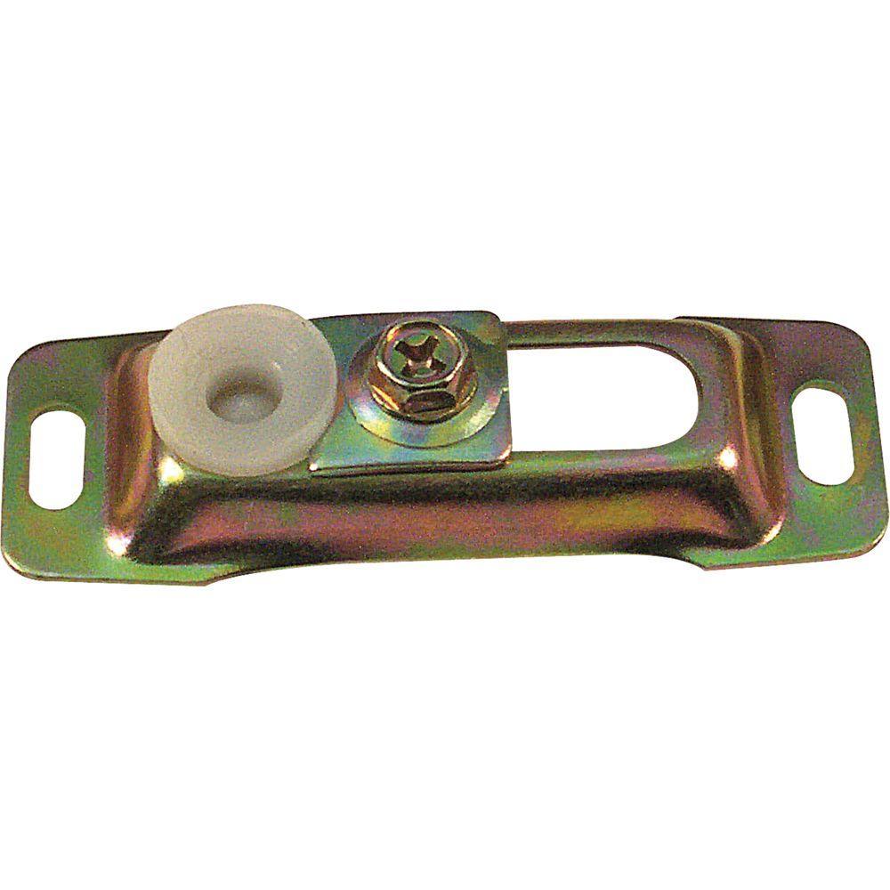 Bi-Fold Door Floor Pivot Bracket, Nylon/Steel