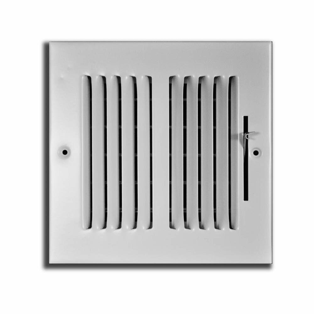 10x10 Kitchen Designs Home Depot: TruAire 8 In. X 8 In. 2 Way Wall/Ceiling Register-H102M