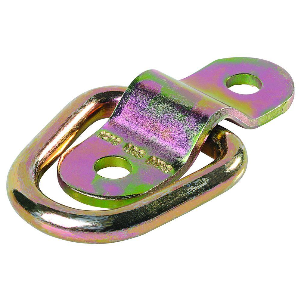 Keeper 1 in. D-Ring with Bracket