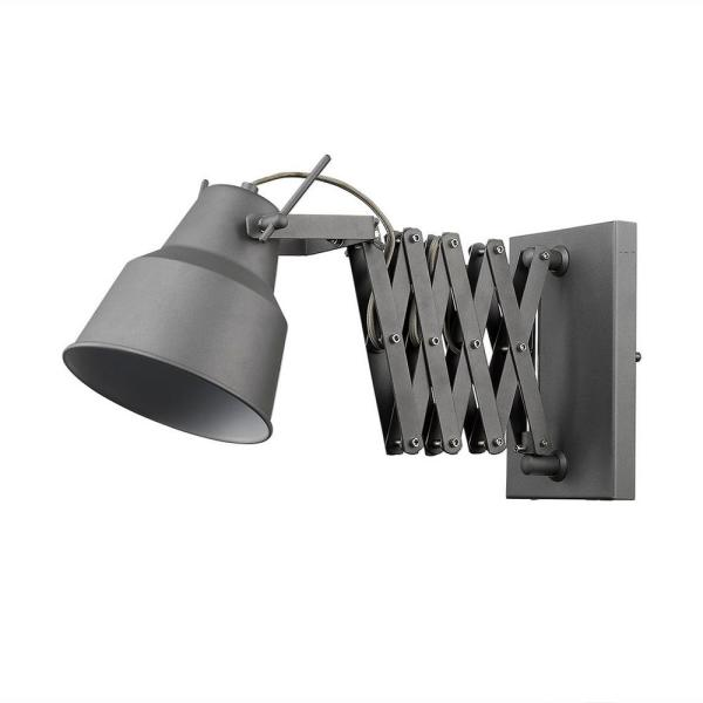 Plexus 1-Light Gray Sconce