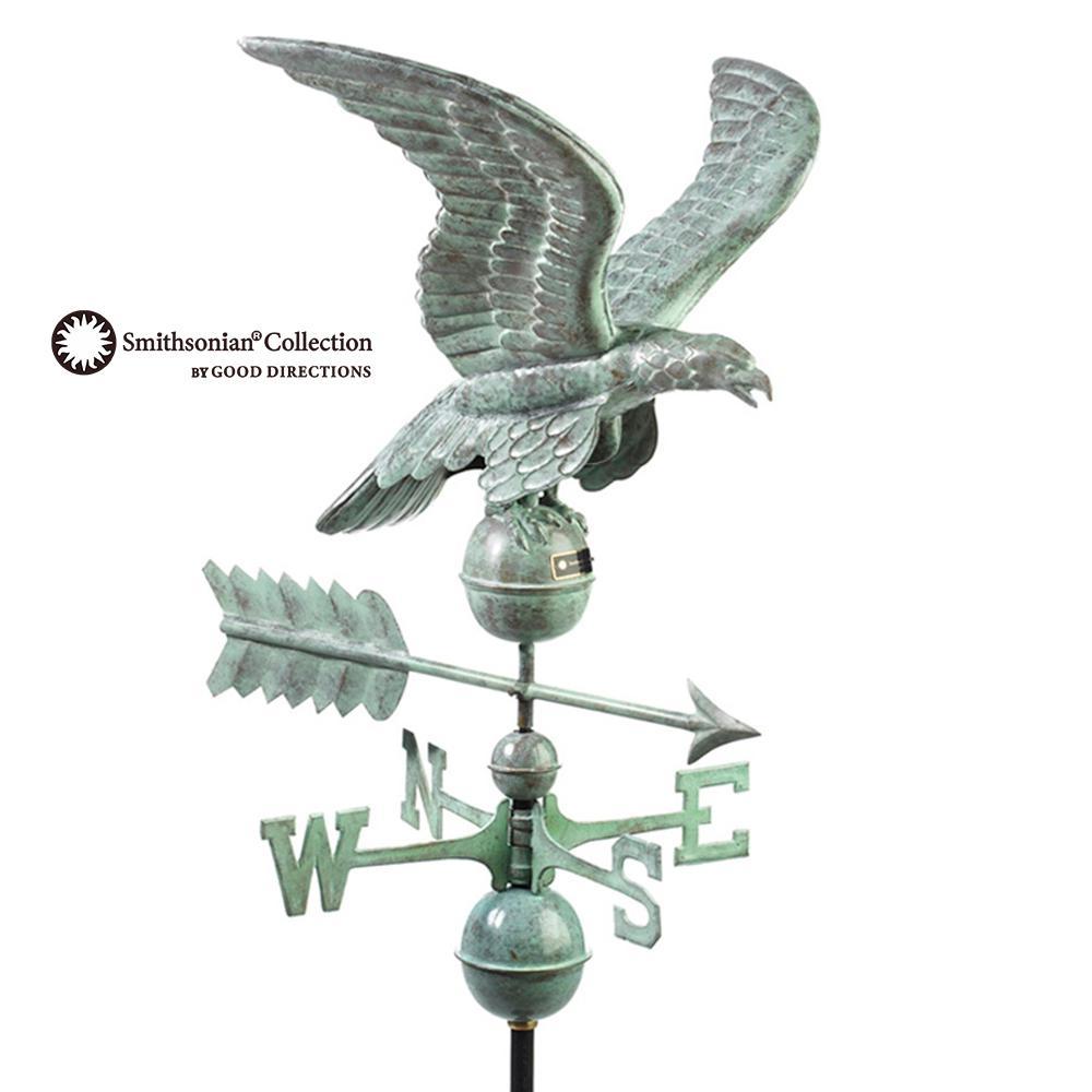 5 ft tall Yard Decor Decorative Metal Wind Vane Steel Weathervane Flying Duck