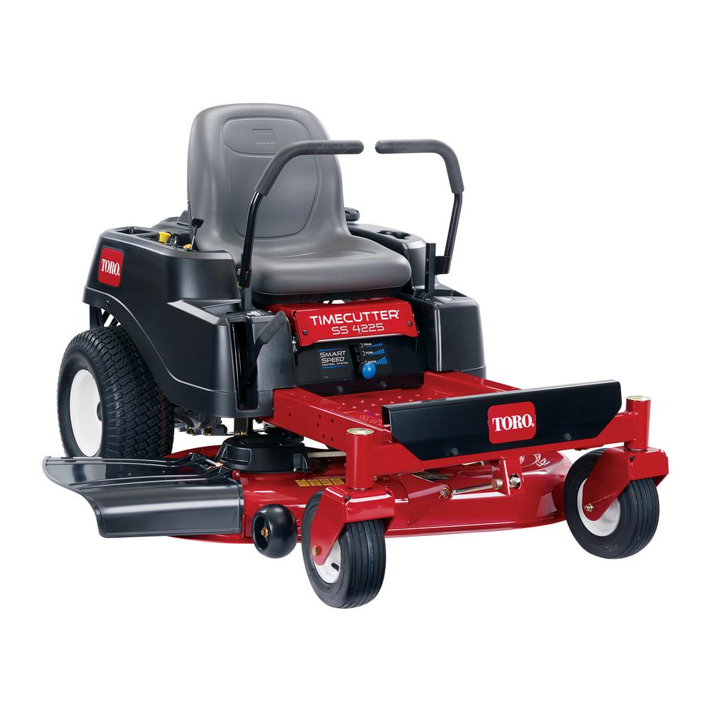 Toro Timecutter Ss4225 42 In 22 5 Hp V Twin Gas Dual Hydrostatic Zero Turn