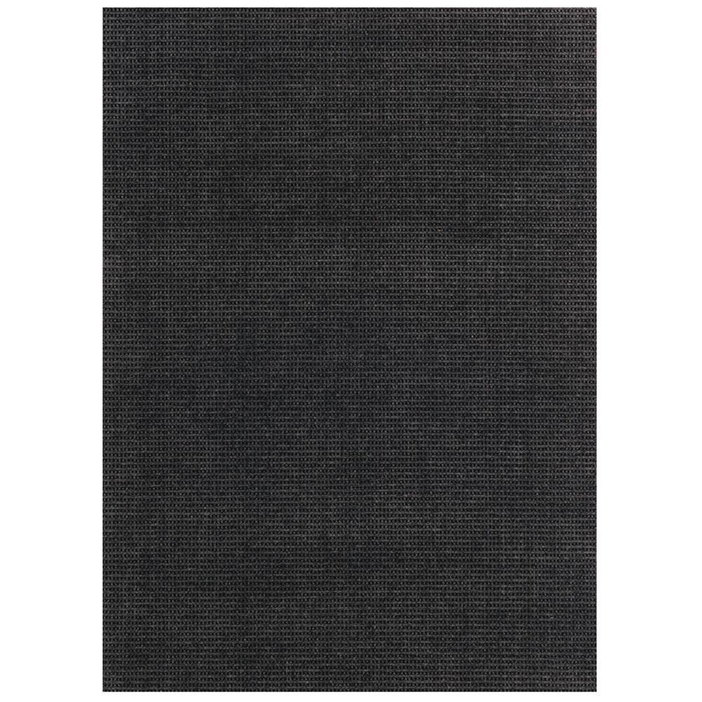 Outdoor Rug Rental: Foss Checkmate Charcoal/Black 6 Ft. X 8 Ft. Indoor/Outdoor