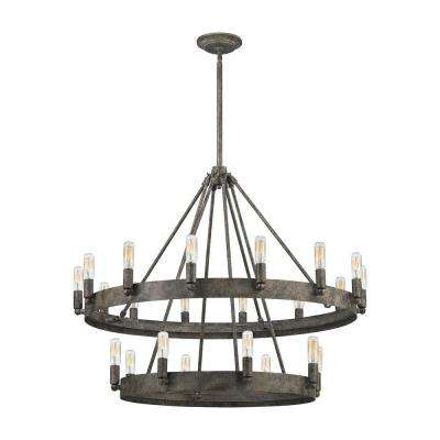 Lewisburg 22-Light Malted Rust Chandelier