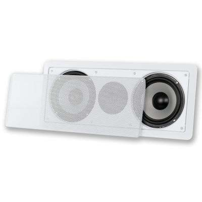In-Wall Dual 6.5 in. Center Channel Speaker Home Theater