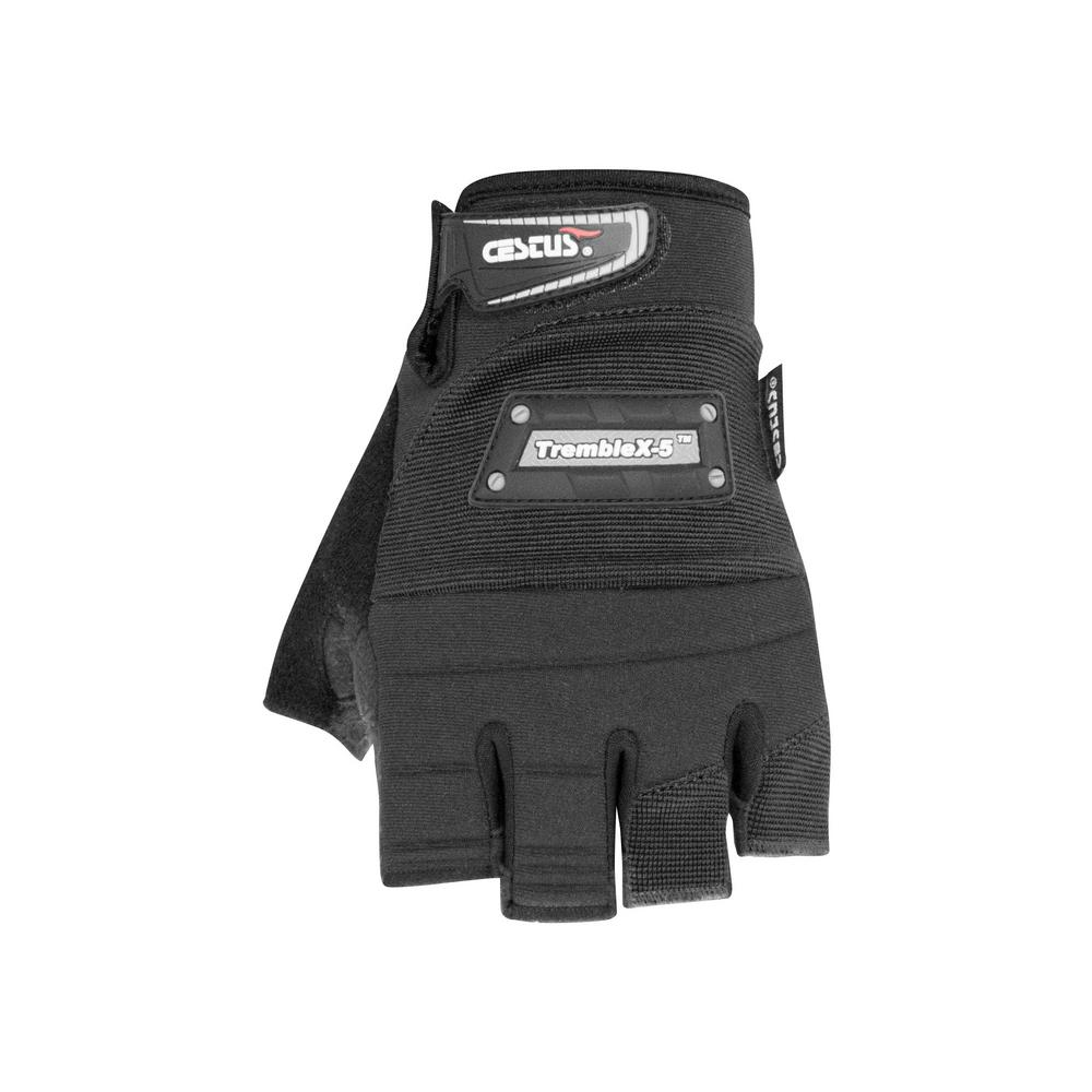 Large Black TrembleX-5 Gloves