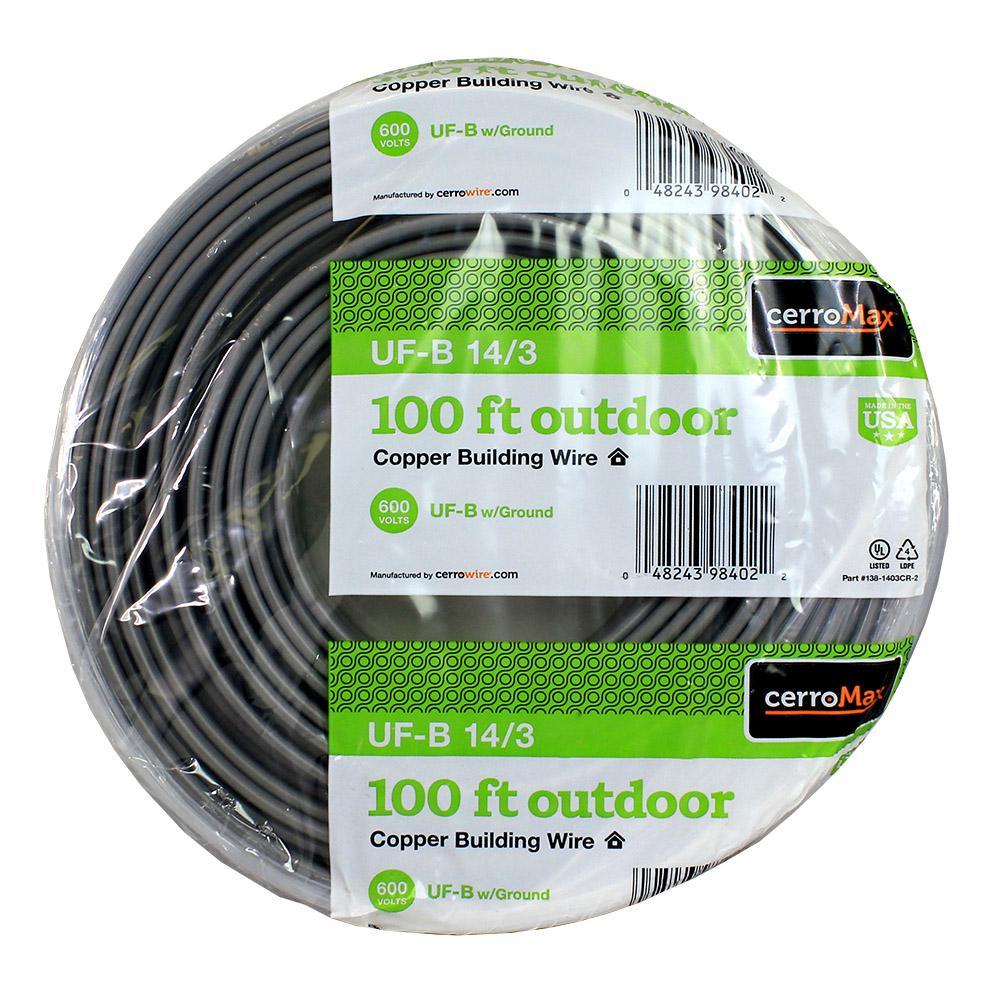 100 ft. 14/3 UF-B Wire