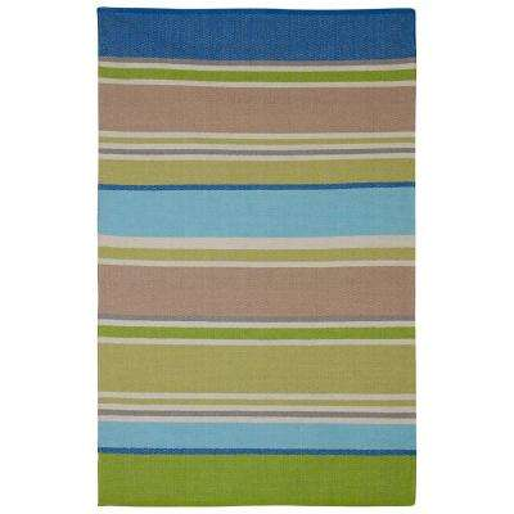 Hope - Multi - Blue & Green (6' x 9') - Cotton
