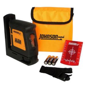 Johnson Self-Leveling High-Powered Cross-Line Laser Level by Johnson