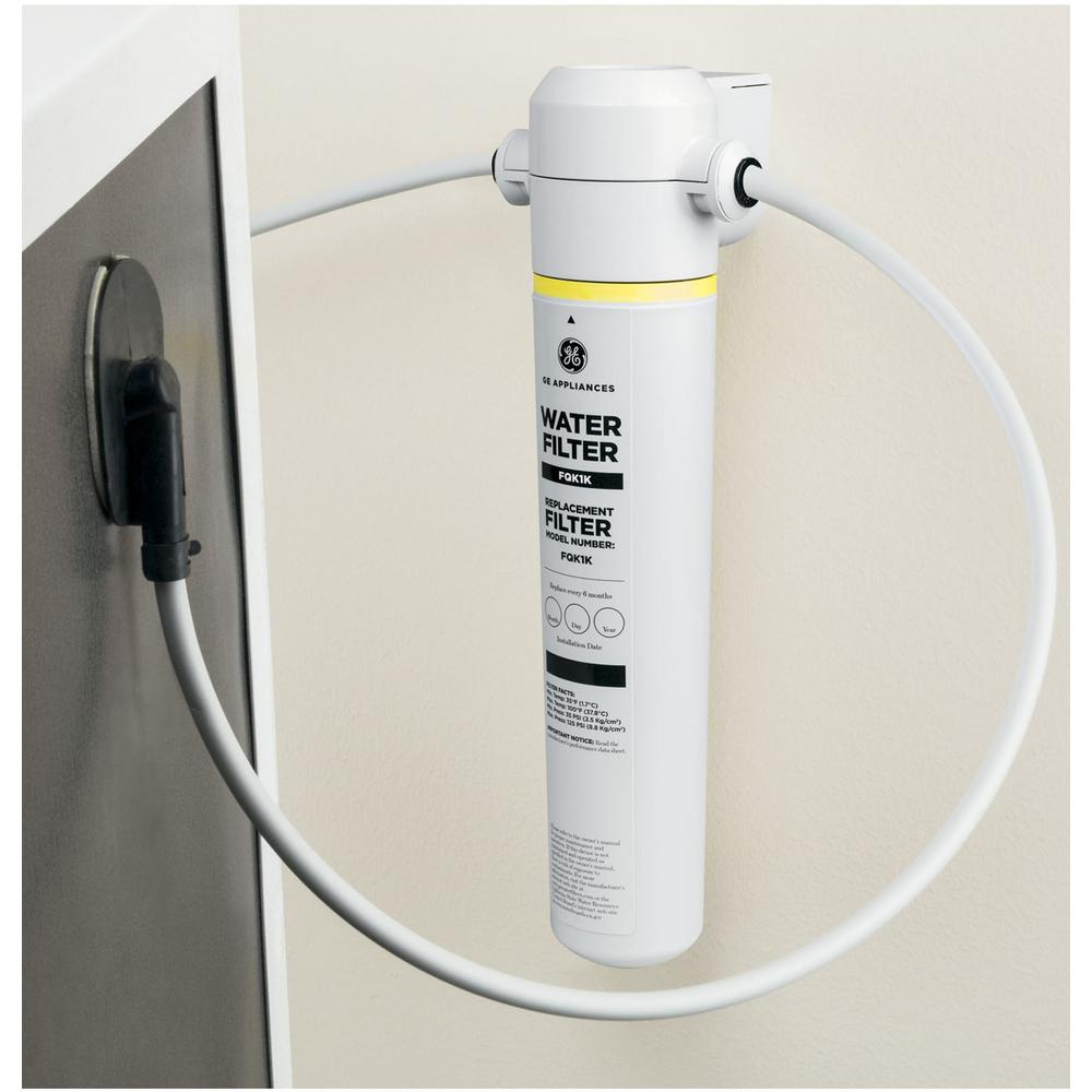 GE In-line Water Filtration System for Refrigerators or Icemakers