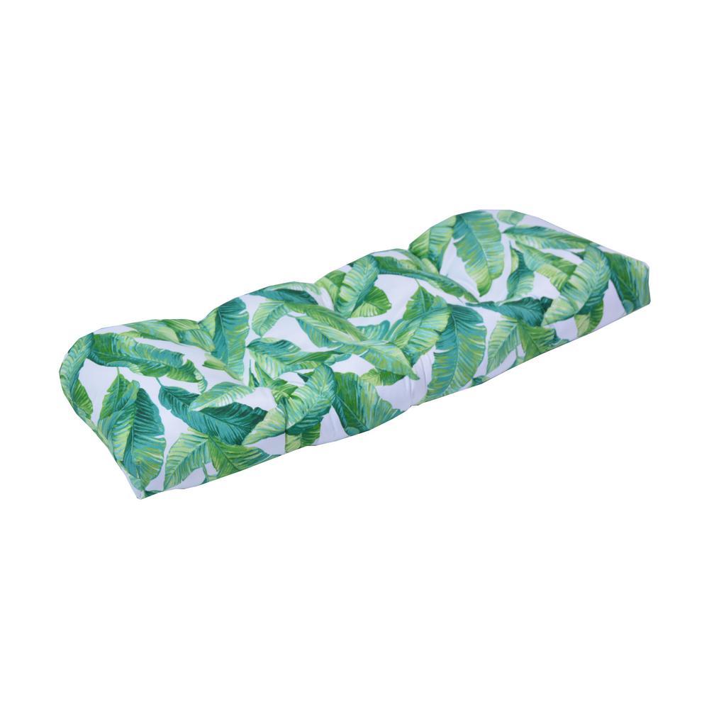 Hanalei Contoured Outdoor Bench Cushion