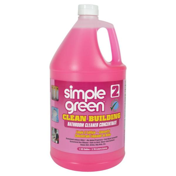 Simple Green, SMP11101, Clean Building Bathroom Cleaner, 1 Each, Pink