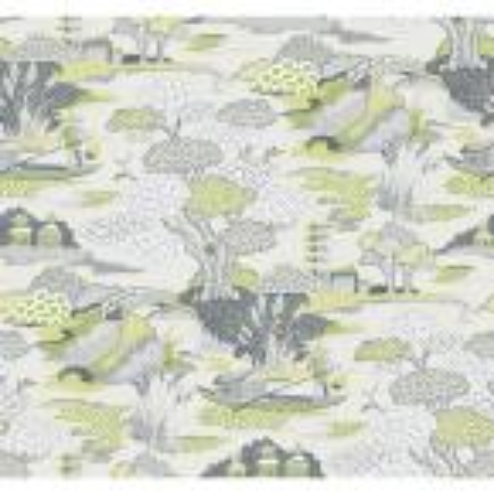 Joy De Vie Green Toile Strippable Wallpaper (Covers 60.8 sq. ft.)