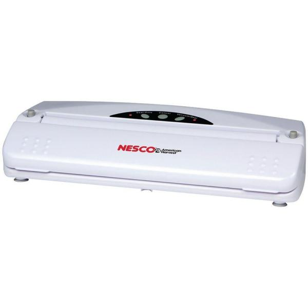 White Food Vacuum Sealer with Bags