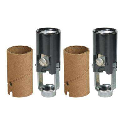 2 in. Keyless Socket (2-Pack)