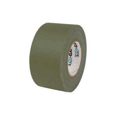 3 in. x 55 yds. Olive Drab Gaffer Industrial Vinyl Cloth Tape (3-Pack)