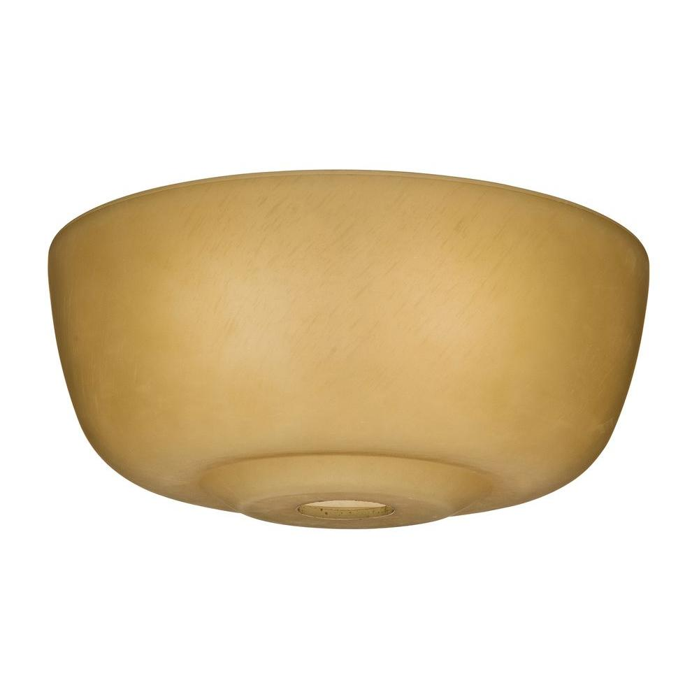 Casablanca Transitional Toffee Glass Bowl For 99023 99060 The Home Depot