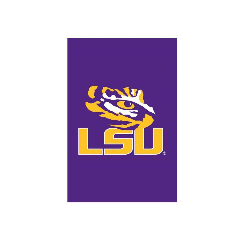 Fan Essentials 1 Ft X 1 1 2 Ft Louisiana State University 2 Sided Garden Flag Zthd16921dr