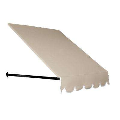 3 ft. Dallas Retro Awning for Low Eaves (18 in. H x 36 in. D) in Tan