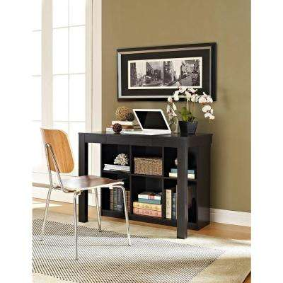 Parsons Black Oak Desk