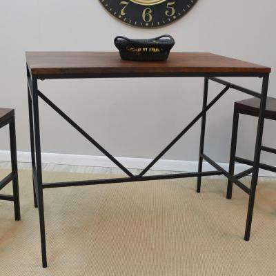 Aileen Rich Chestnut and Black Pub/Bar Table