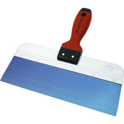 12 in. x 3 in. Blue Steel Tape Knife with DuraSoft Handle