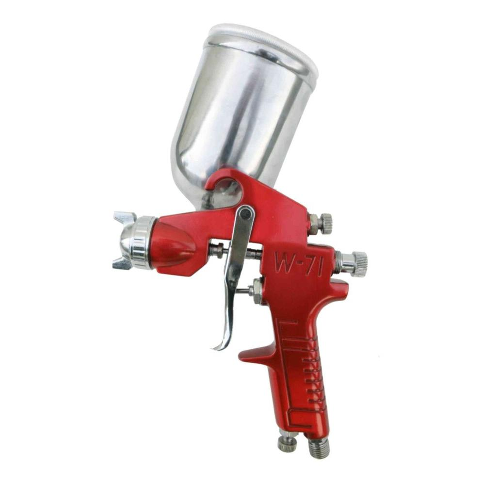 SPRAYIT Gravity Feed Spray Gun with Aluminum Swivel Cup