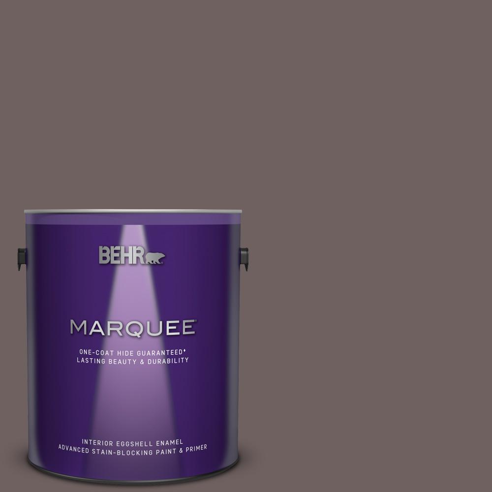 N110 6 Dignified Purple One Coat Hide Eggshell Enamel Interior Paint And Primer In