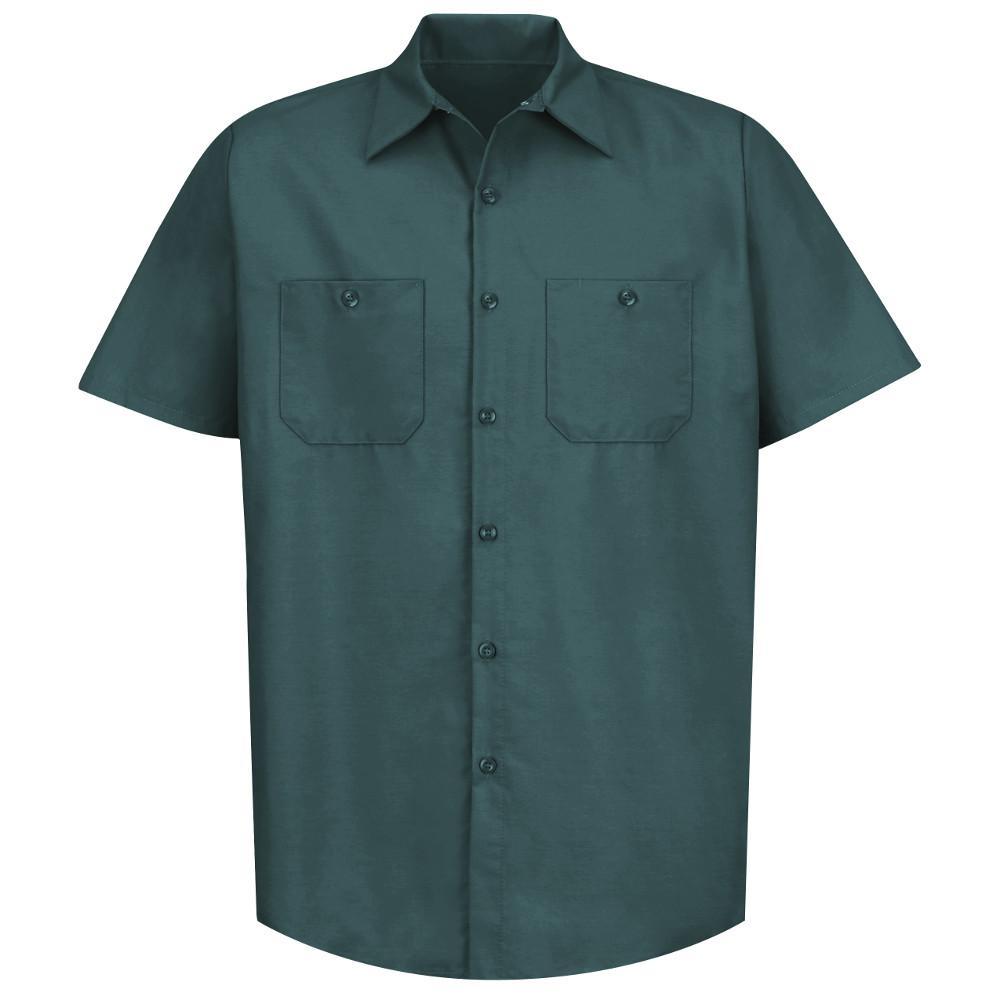 Men's Size XL Spruce Green Industrial Work Shirt