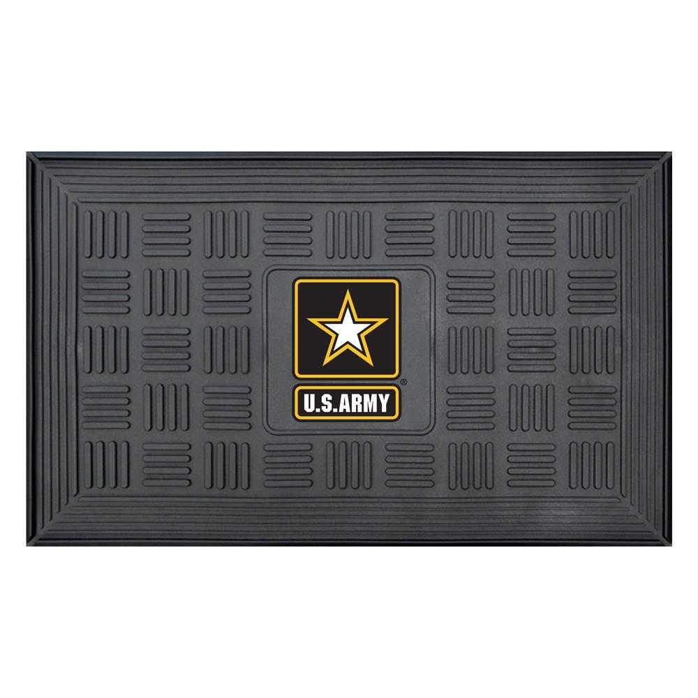 FANMATS U.S. Army 19 inch x 30 inch Door Mat by FANMATS