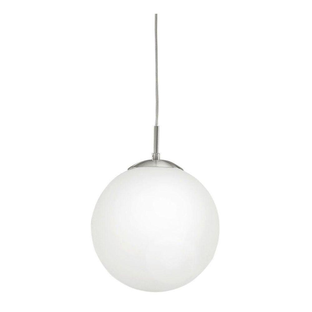 Rondo 1-Light Matte Nickel Pendant